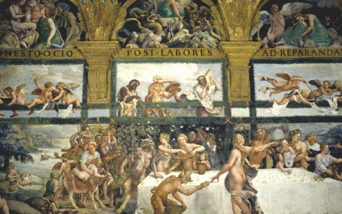Giulio Romano ed Eros a Palazzo Te